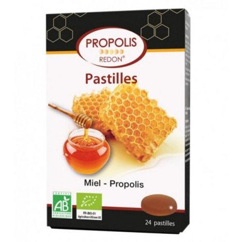 Pastillas propolis miel Redon - Biover - 24 Past