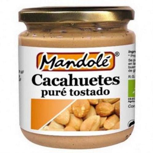 Puré de Cacahuete Tostado 350g Mandolé