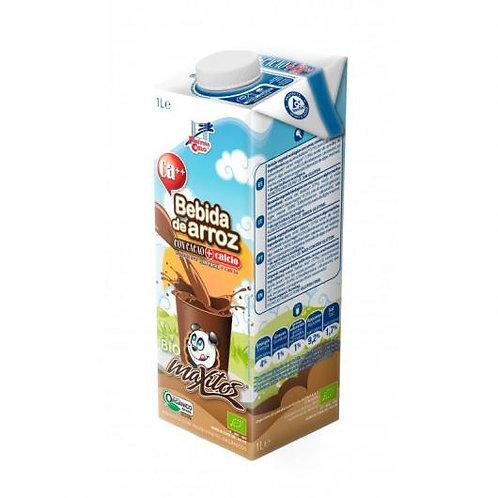 Bebida Maxitos de Arroz con Cacao y Calcio - La Finestra Sul Cielo - 1 Litro
