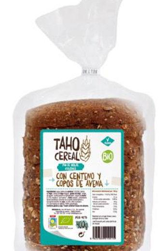 Pan de molde con Centeno y copos Avena 400g Taho Cereal