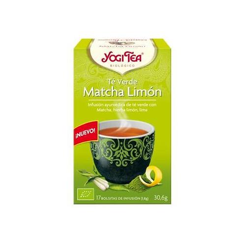 Yogi Tea BIO Té verde y Matcha limón - 17 bolsitas