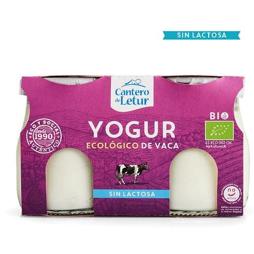 Yogur Vaca SIN LACTOSA 2x125g Cantero de Letur