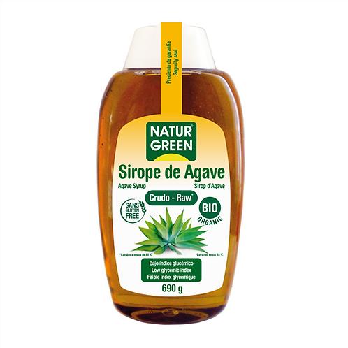 Sirope  Agave Crudo 500ml Naturgreen