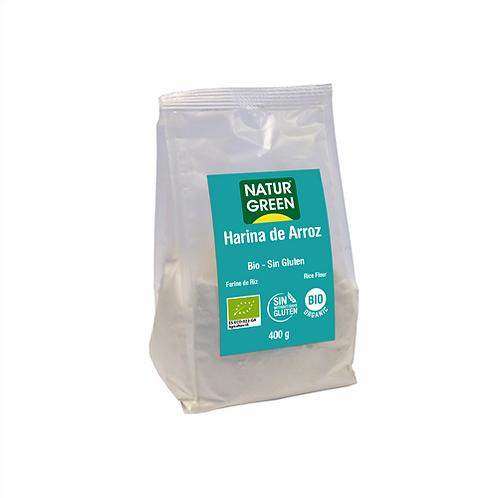 Harina Arroz sin gluten 400g Naturgreen