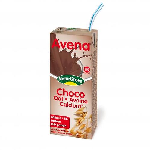 Bebida de Avena Cacao Calcium Bio - Naturgreen - 200ml