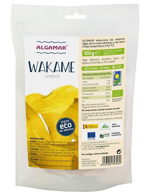 Wakame (Undaria Pinnatida) – Algamar - 100g
