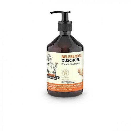 Gel ducha energizante todo tipo de pieles Oma Gertrude, 500 ml
