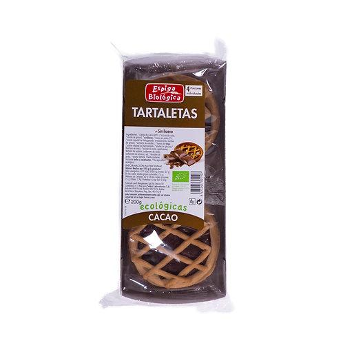 Tartaletas cacao - Espiga Biológica - 180g