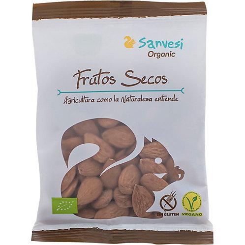 Almendra tostada ecológica - Sanvesi - 100g