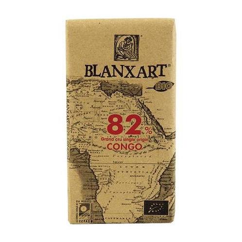 Chocolate negro Congo 82% 125g Blanxart