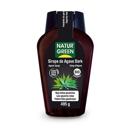 Sirope Agave Dark 360ml Naturgreen