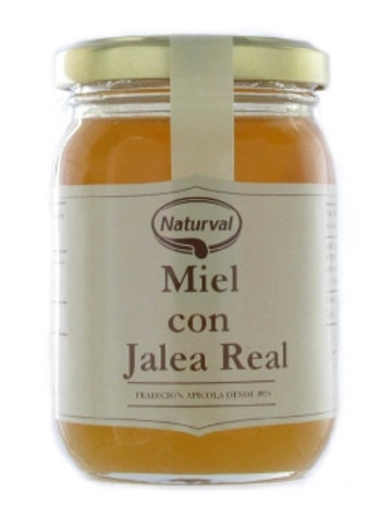 Miel con jalea real 250g naturval