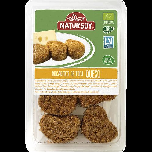 Bocaditos de tofu y queso rebozados 150g Natursoy
