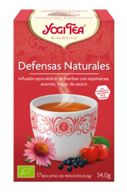 YogiTea Defensas Naturales 17 bolsitas