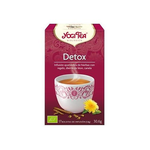 Yogi Tea BIO Detox - 17 bolsitas