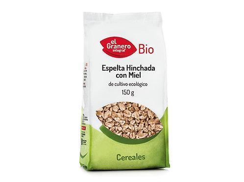 Espelta Hinchada con Miel Bio - El Granero Integral - 150 g
