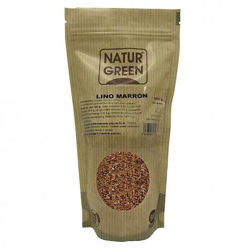 Lino marrón 500g naturgreen