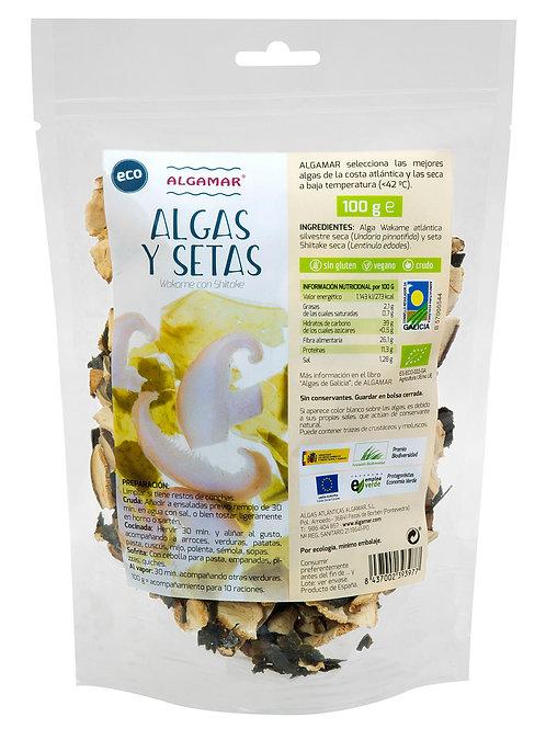 Algas y setas – Algamar - 100g