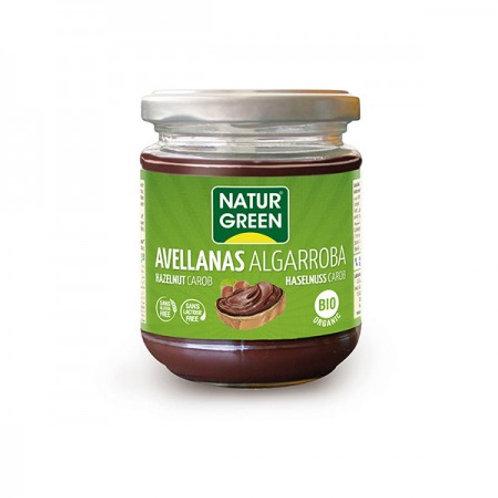 Crema Ecológica De Avellana Y Algarroba - NaturGreen - 200g.