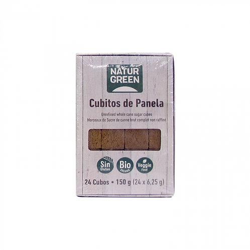 Cubitos Panela 24unds Naturgreen