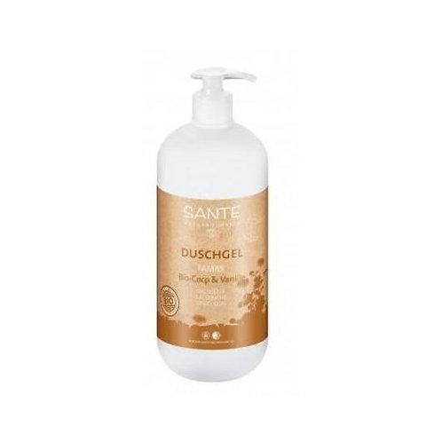 Gel de ducha de coco y vainilla - Sante - 950 ml