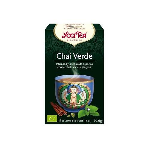 Yogi Tea BIO Chai verde - 17 bolsitas