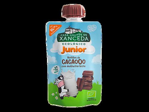 BB Bio Natillas de Cacao Junior Multifrutas 90g Xanceda