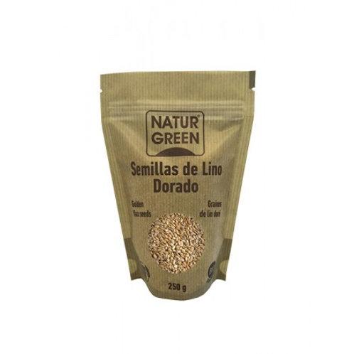 Lino dorado - Naturgreen - 250g