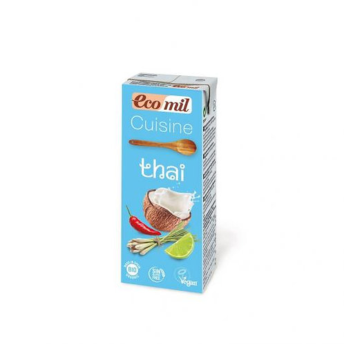 Crema Coco Thai cuisine 200ml Ecomil