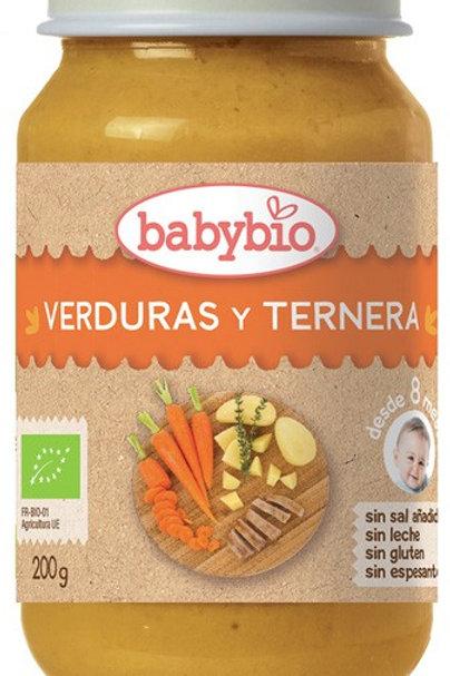 Tarrito verduras y ternera - Babybio - 200g