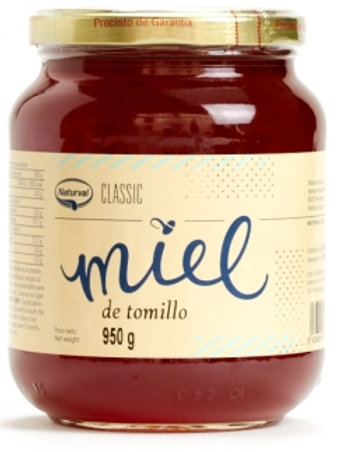 Miel tomillo - naturval - 950g