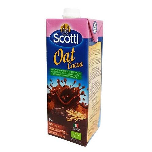 Bebida avena chocolate 1L scotti