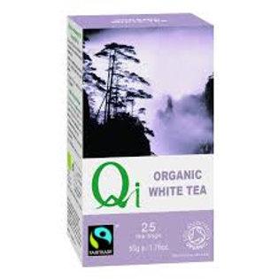Té Blanco fairtrade - Qi Herbal Health - 25 filtro