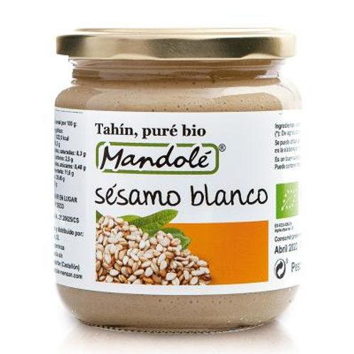 Puré de Sésamo Blanco (Tahín) Bio - Mandolé - 325 g