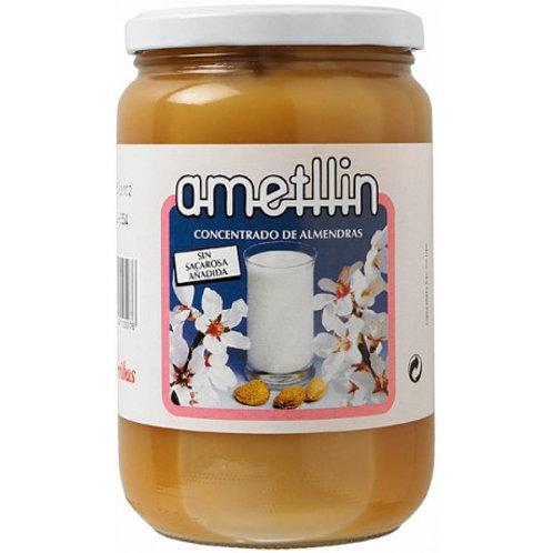 Concentrado de almendras  sin Azúcar - Ametllin - 900 g
