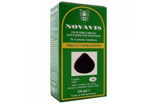 Tinte castaño caoba 4M - NOVAVIS - 135ml.