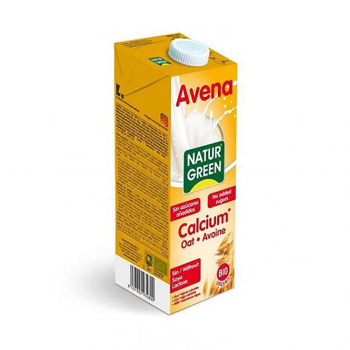 Bebida de avena calcio Bio - naturgreen - 1L