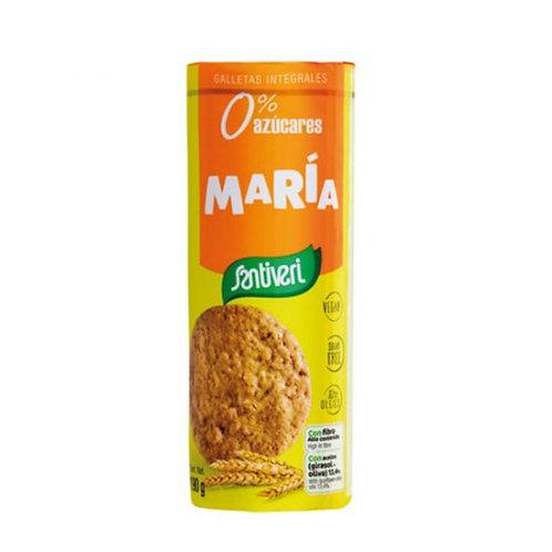 Galletas María Digestive 0% az. 190g Santiveri