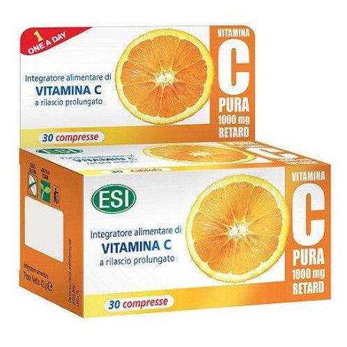 Vitamina C Pura Retard - ESI - 1000Mg.