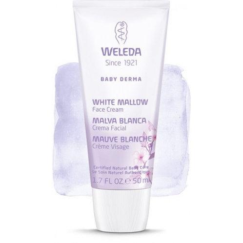 Crema facial Baby de malva blanca - weleda - 50 ml