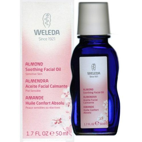 Acite facial de almendra armonizante - weleda - 50 ml
