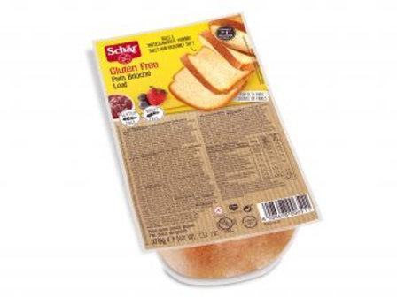 Pan brioche 370g Schar