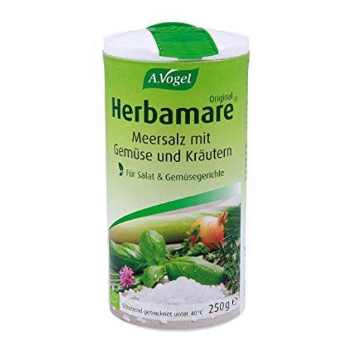 Sal marina con plantas aromáticas y hortalizas - Herbamare - 250 gr