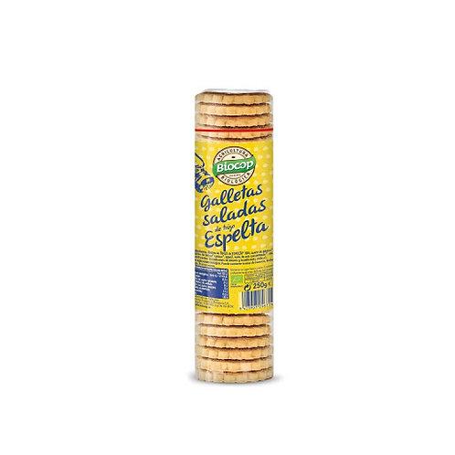 Galleta saladas de trigo espelta 230g Biocop
