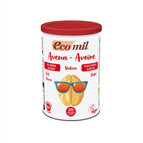 Bebida vegetal de Avena en polvo - EcoMil - 400g