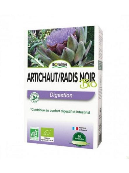Rábano negro + alcachofa ampollas Biotechnie