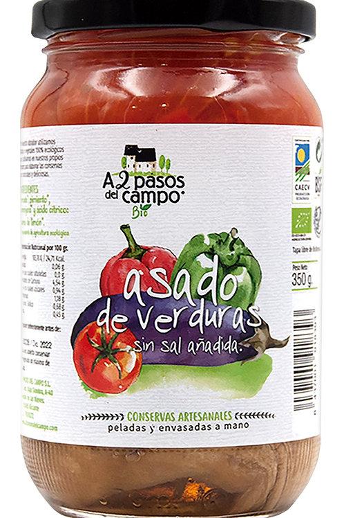 Asado de Verduras 350g A2 Pasos del Campo