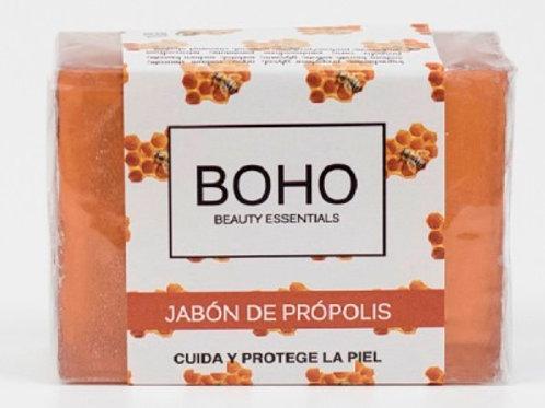 Jabón glicerina propóleo - BOHO - 100 gr