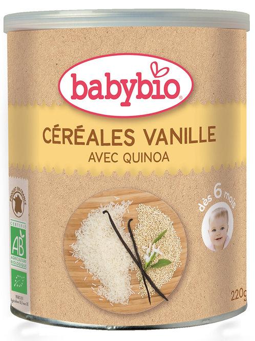Babybio Cereales Vainilla Bio 220g