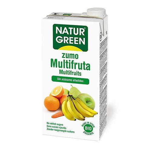 Zumo multifrutas 1L naturgreen